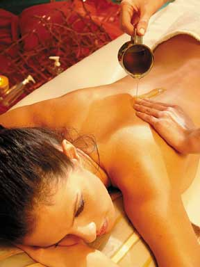 ayurveda massage of ayurvedische massage