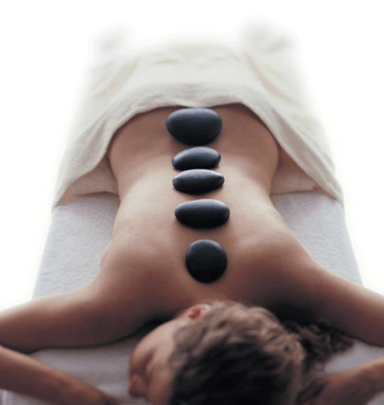 Hotstonemassage, Hot stones